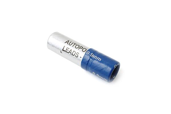 """Autopoint 1.375"""" Length Mechanical Pencil Lead - 0.9 mm - B - Blue - AUTOPOINT 894-1"""