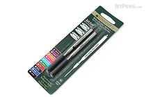 Monteverde Soft Roll Ballpoint Pen Refill for Lamy - Brown - Pack of 2 - MONTEVERDE L132BN