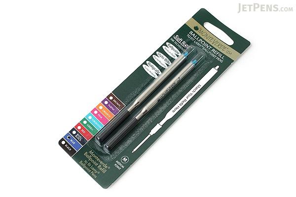 Monteverde Soft Roll Ballpoint Pen Refill for Lamy - Blue - Pack of 2 - MONTEVERDE L132BU