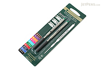 Monteverde Soft Roll Ballpoint Pen Refill for Lamy - Green - Pack of 2 - MONTEVERDE L132GN