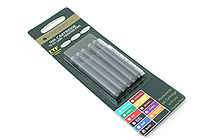 Monteverde Fountain Pen Ink Cartridge for Lamy - Black - Pack of 5 - MONTEVERDE L302BK