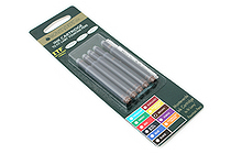 Monteverde Fountain Pen Ink Cartridge for Lamy - Brown - Pack of 5 - MONTEVERDE L302BN