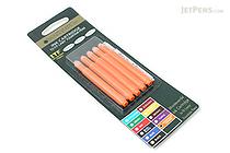 Monteverde Fountain Pen Ink Cartridge for Lamy - Fluorescent Orange - Pack of 5 - MONTEVERDE L302FOR