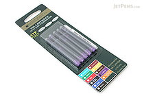 Monteverde Fountain Pen Ink Cartridge for Lamy - Purple - Pack of 5 - MONTEVERDE L302PL
