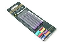 Monteverde Fountain Pen Ink Cartridge for Lamy - Purple - Pack of 5 - MONTEVERDE L302PL