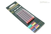 Monteverde Red Ink for Lamy - 5 Cartridges - MONTEVERDE L302RD