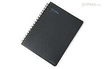 Kokuyo CamiApp Twin Ring Notebook - A6 - 21 Lines - 6 mm - KOKUYO SU-TCA92B