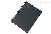 Kokuyo CamiApp Twin Ring Notebook - A6 - 5 mm Graph - KOKUYO SU-TCA92SN