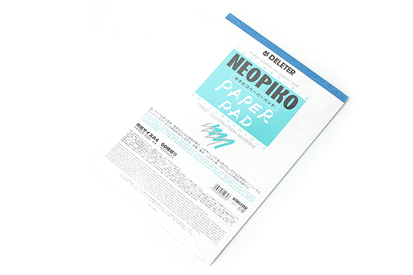 """Deleter Neopiko Comic Paper Pad - A4 (8.3"""" X 11.7"""") - 50 Sheets - DELETER 201-1029"""