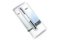 LunaTik Alloy Touch Pen - 0.7 mm Roller Ball Pen + Stylus - Silver Body - LUNATIK PASLV-020