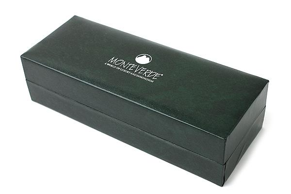 Monteverde Engage One Touch Retractable Rollerball Pen - Black Trim - MONTEVERDE MV35340