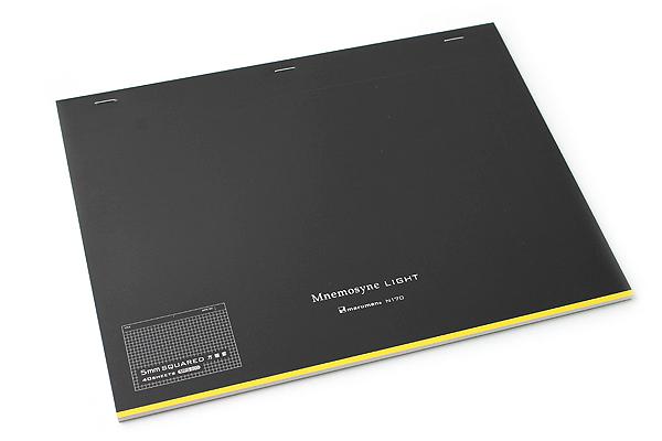 "Maruman Mnemosyne Light Notebook - A4 (8.3"" X 11.7"") - 5 mm X 5 mm Graph - 40 Sheets - Bundle of 5 - MARUMAN N170 BUNDLE"