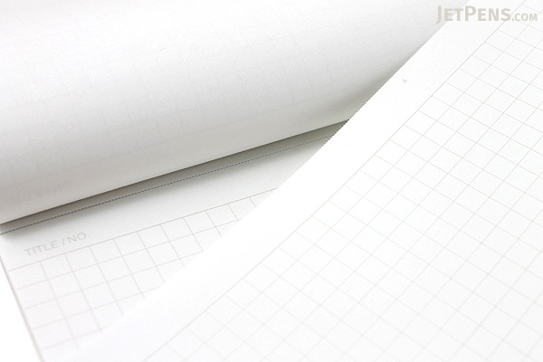 "Maruman Mnemosyne Light Notebook - A4 (8.3"" X 11.7"") - 5 mm X 5 mm Graph - 40 Sheets - MARUMAN N170"