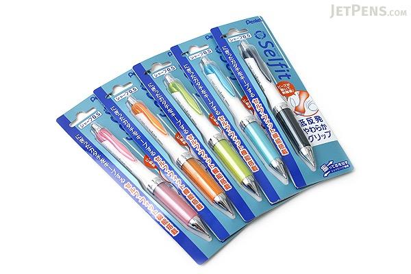 Pentel Selfit Mechanical Pencil - 0.5 mm - Sky Blue Grip - PENTEL XPR605-S