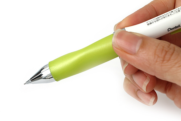 Pentel Selfit Mechanical Pencil - 0.5 mm - Lime Yellow Green Grip - PENTEL XPR605-G