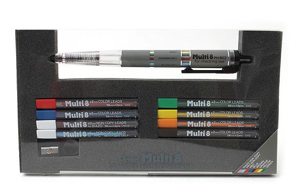 Pentel Multi 8 Set - PENTEL PH802ST