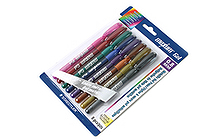 Staedtler Maxum Metallic Gel Pen - 0.8 mm - 8 Color Set - STAEDTLER 9824G BK8