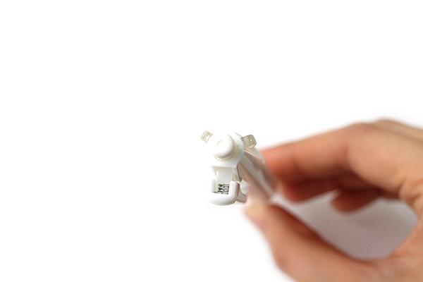 Zebra Prefill 3 Color Multi Pen Body Component - Limited Edition - Dot White - ZEBRA S3A11-DTW