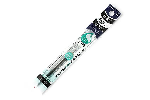 Zebra EK-0.5 Surari Emulsion Ink Multi Pen Refill - 0.5 mm - Blue Black - ZEBRA REK5A-FB