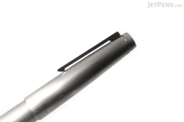 Lamy 2000 Fountain Pen - Stainless Steel Silver - Medium Nib - LAMY L02MM
