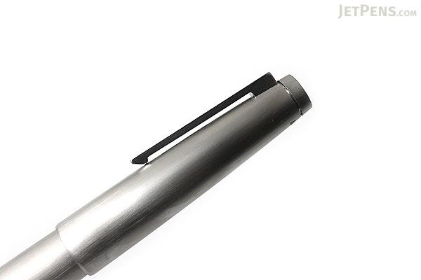 Lamy 2000 Fountain Pen - Stainless Steel Silver - Fine Nib - LAMY L02MF