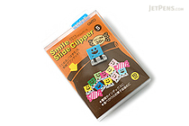 Ohto Smile Slide Clipper Paper Clip - Small - Vivid Color Set - Pack of 10 - OHTO SLS-500S-V