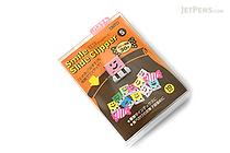 Ohto Smile Slide Clipper Paper Clip - Small - Pastel Color Set - Pack of 10 - OHTO SLS-500S-P