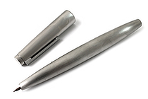 Lamy 2000 Fountain Pen - Fine Nib - Stainless Steel Silver Body - LAMY L02MF