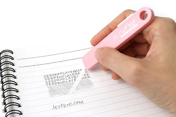 Seed Ruflat Eraser - Pink Body - SEED EH-F-P