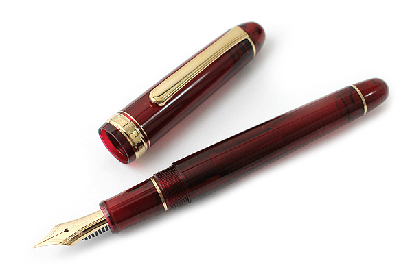 Platinum 3776 Century Fountain Pen - Fine Nib - Bourgogne (Burgundy) Body - PLATINUM PNB-10000 71-F