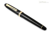 Platinum 3776 Century Fountain Pen - Black - Medium Nib - PLATINUM PNB-10000 1-M