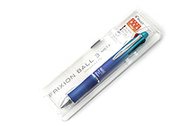 Pilot FriXion Ball 3 Metal 3 Color Gel Ink Multi Pen - Gradation Blue - PILOT LKFB150EF-GRL