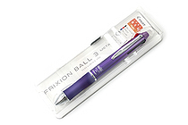 Pilot FriXion Ball 3 Metal 3 Color Gel Ink Multi Pen - Gradation Violet - PILOT LKFB150EF-GRV