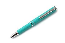 Zebra SL-F1 Mini Ballpoint Pen - 0.7 mm - Mint Green Body - Black Ink - ZEBRA BA55-MTG