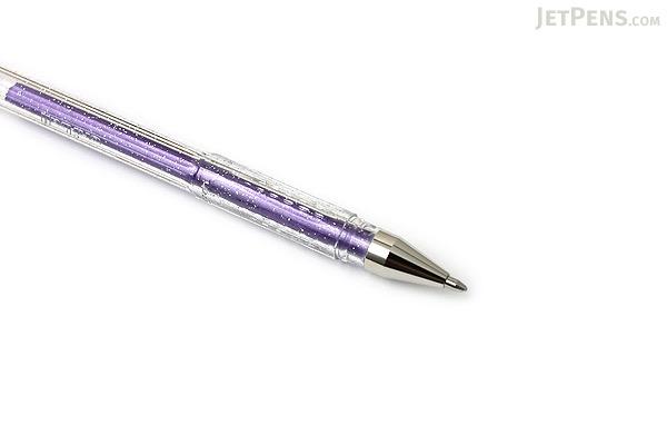 Uni-ball Signo Sparkling Glitter UM-120SP Gel Pen - 1.0 mm - Violet - UNI UM120SP.12