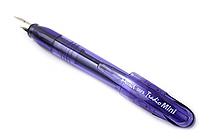 Pentel TRFS Tradio Mini Fountain Pen - Medium Nib - Violet Body - Blue Ink - PENTEL TRFS10V