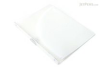Kokuyo Campus Adapt Slim Binder - A4 - 30 Rings - White - KOKUYO RU-AP171T