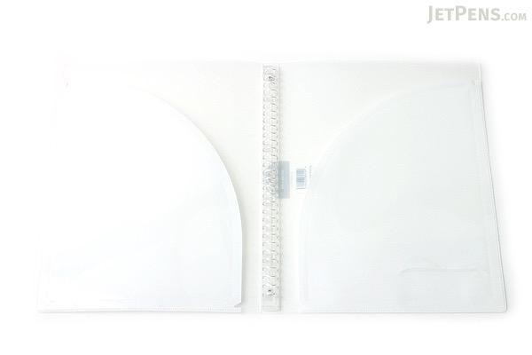 Kokuyo Campus Adapt Slim Binder - A4 - 30 Rings - White - Bundle of 3 - KOKUYO RU-AP171T BUNDLE
