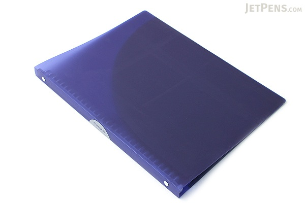 Kokuyo Campus Adapt Slim Binder - A4 - 30 Rings - Purple - KOKUYO RU-AP171V