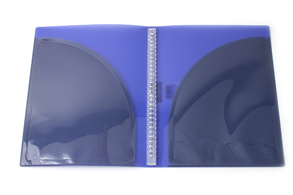 Kokuyo Campus Adapt Slim Binder - A4 - 30 Rings - Purple - Bundle of 3 - KOKUYO RU-AP171V BUNDLE