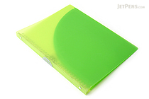 Kokuyo Campus Adapt Slim Binder - A4 - 30 Rings - Yellow Green - KOKUYO RU-AP171YG
