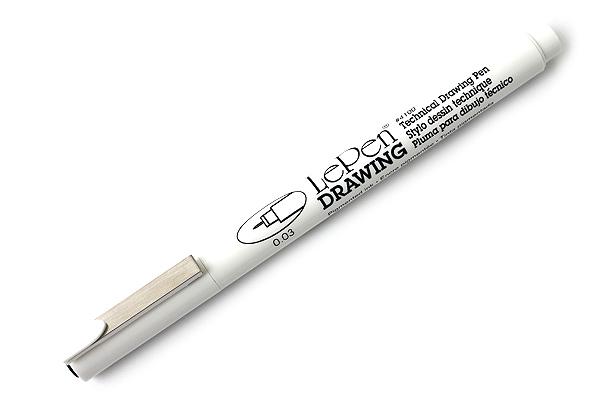 Marvy Le Pen Technical Drawing Pen - 0.03 mm - Black - MARVY 4100-0.03