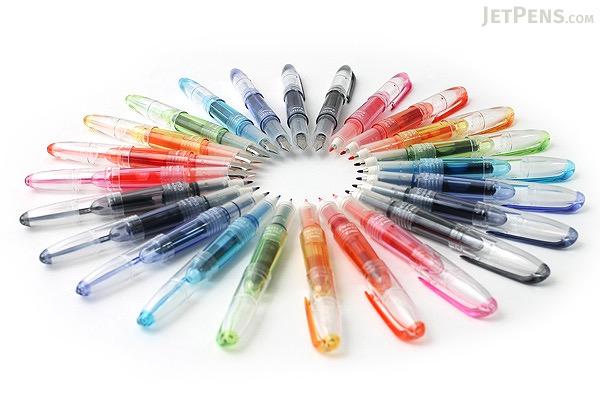 Pilot Petit3 Mini Fude Brush Pen - 8 Color Bundle - JETPENS PILOT SPN-15KK BUNDLE