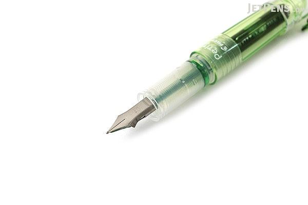 Pilot Petit1 Mini Fountain Pen - Apple Green - Fine Nib - PILOT SPN-20F-AG