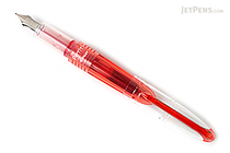 Pilot Petit1 Mini Fountain Pen - Red - Fine Nib - PILOT SPN-20F-R