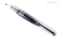 Pilot Petit3 Mini Fude Brush Pen - Blue Black - PILOT SPN-15KK-BB