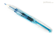Pilot Petit3 Mini Fude Brush Pen - Clear Blue - PILOT SPN-15KK-CL