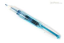 Pilot Petit3 Mini Fude Brush Pen - Clear Blue - PILOT SPN-15KK-CL