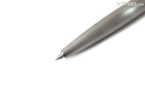 Lamy 2000 Fountain Pen - Stainless Steel Silver - Extra Fine Nib - LAMY L02MEF