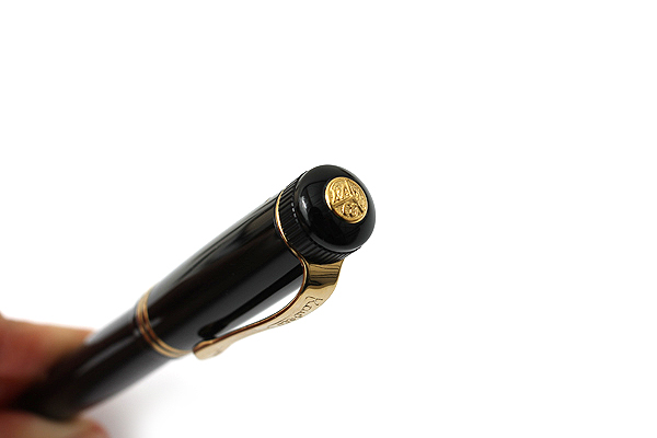 Kaweco Dia2 Rollerball Pen with Gold Accents - Medium Point - Black Body - KAWECO 10000567